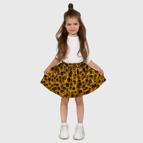 Детская юбка-солнце 3D  Фото 03, Тыквы