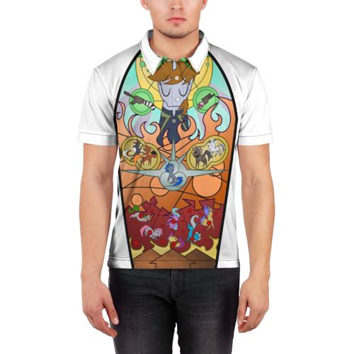 Мужская рубашка поло 3D  Фото 03, Великий Герой