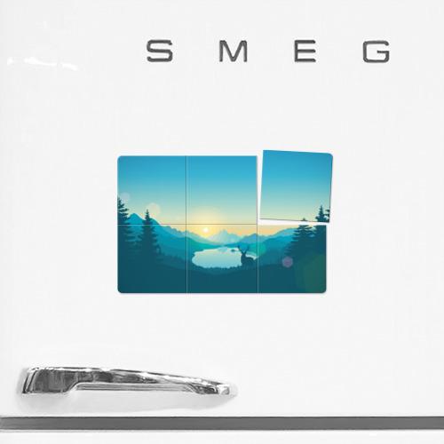 Магнитный плакат 3Х2  Фото 02, firewatch