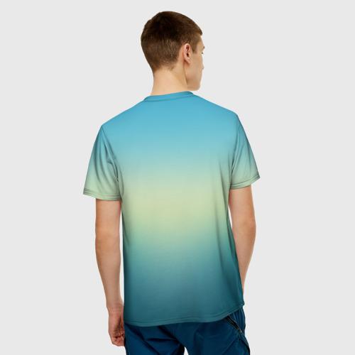 Мужская футболка 3D  Фото 02, firewatch