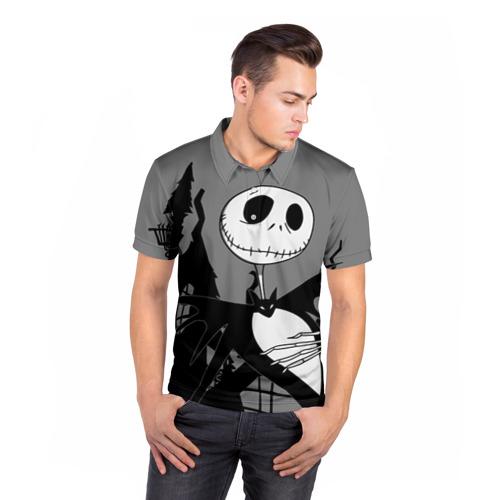 Мужская рубашка поло 3D  Фото 05, Джек повелитель тыкв