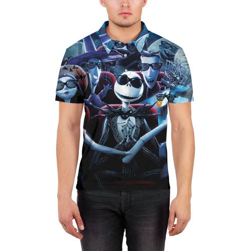 Мужская рубашка поло 3D  Фото 03, Герои мультфильма