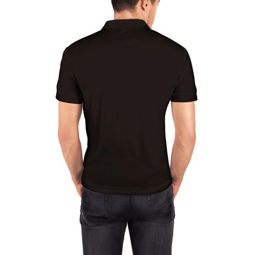 Мужская рубашка поло 3D  Фото 04, Орхидея