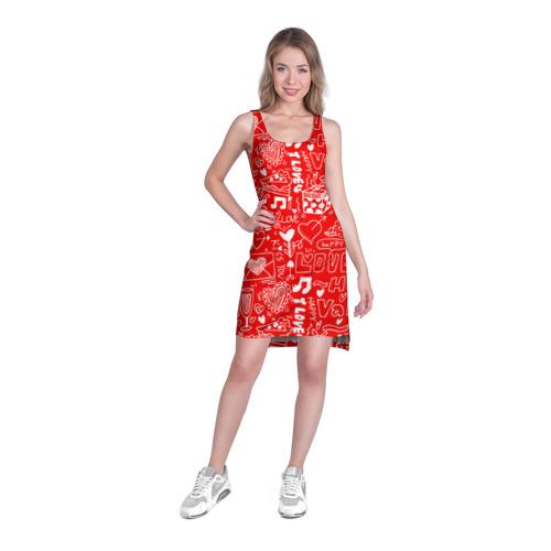Платье-майка 3D  Фото 03, Будь моим Валентином!