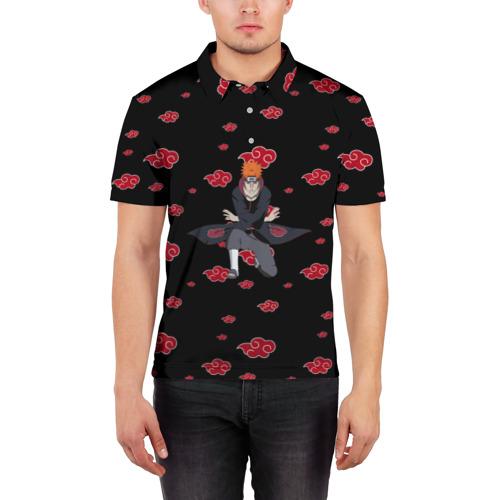 Мужская рубашка поло 3D  Фото 03, Pain (Akatsuki)