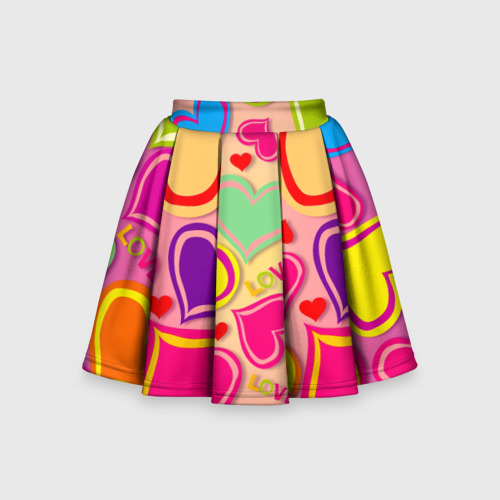 Детская юбка-солнце 3D  Фото 01, Любовная фантазия