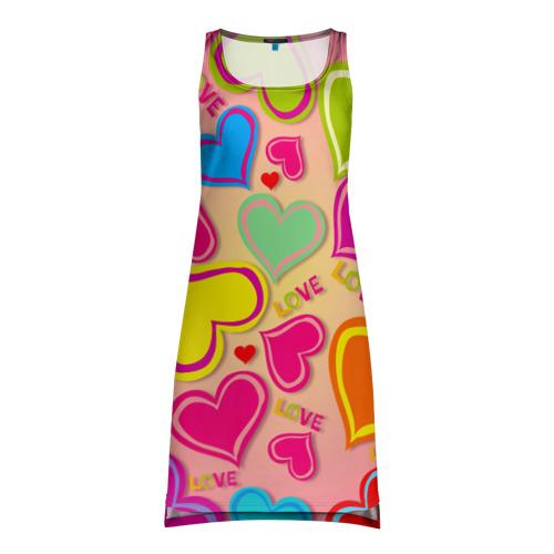 Платье-майка 3D  Фото 01, Любовная фантазия