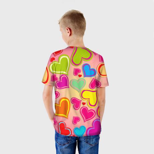 Детская футболка 3D  Фото 02, Любовная фантазия