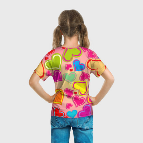 Детская футболка 3D  Фото 04, Любовная фантазия