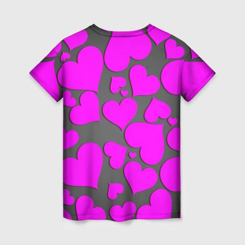 Женская футболка 3D Любовная история Фото 01