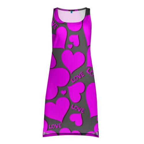 Платье-майка 3D  Фото 01, Любовная история