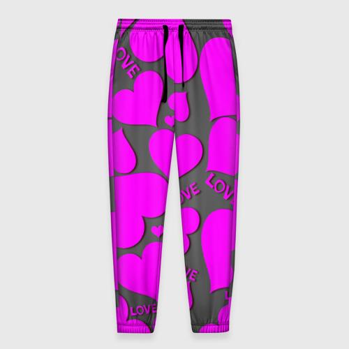 Мужские брюки 3D Любовная история Фото 01