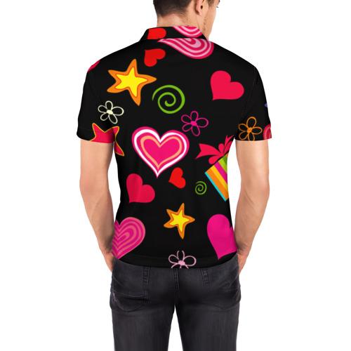 Мужская рубашка поло 3D  Фото 04, Праздник любви