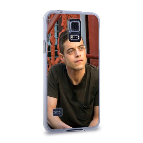 Чехол для Samsung Galaxy S5 силиконовый  Фото 02, Mr. Robot