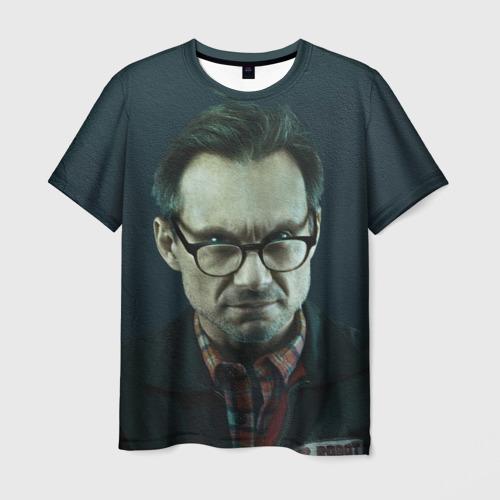 Мужская футболка 3D  Фото 01, Mr Robot