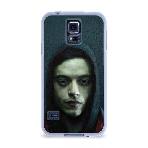 Чехол для Samsung Galaxy S5 силиконовый  Фото 01, Эллиот Роджер