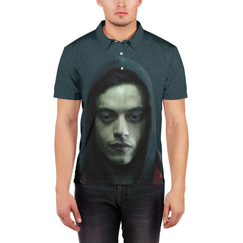 Мужская рубашка поло 3D  Фото 03, Эллиот Роджер