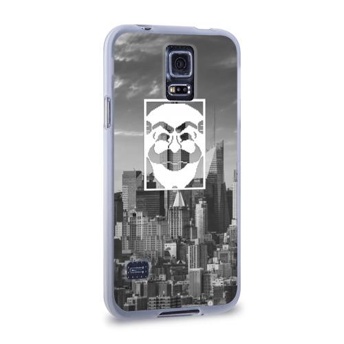 Чехол для Samsung Galaxy S5 силиконовый  Фото 02, Fsociety