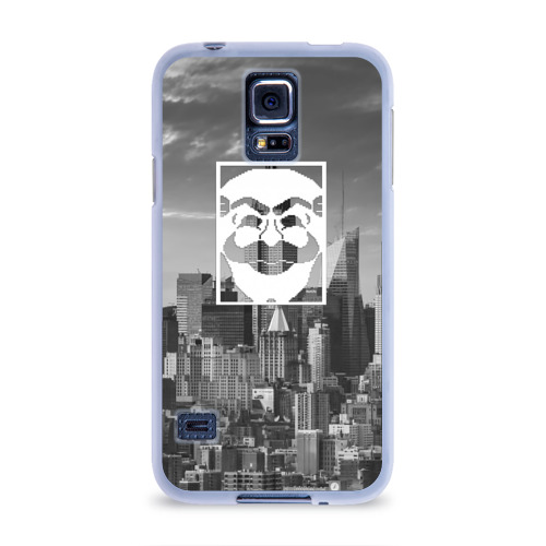 Чехол для Samsung Galaxy S5 силиконовый  Фото 01, Fsociety