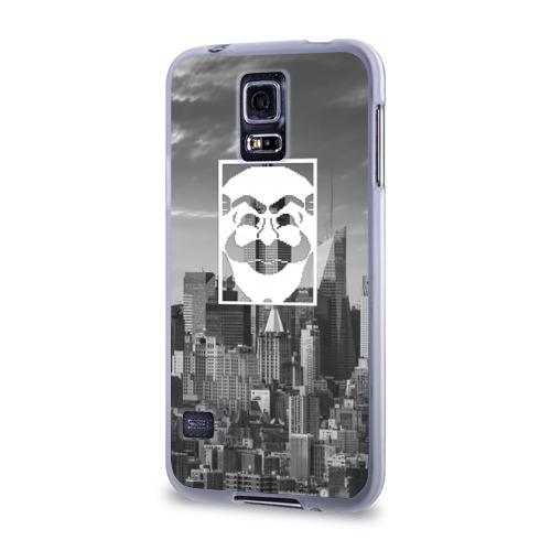 Чехол для Samsung Galaxy S5 силиконовый  Фото 03, Fsociety