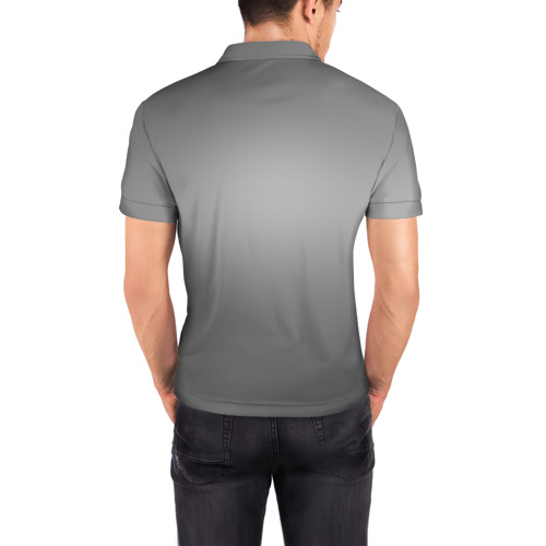 Мужская рубашка поло 3D  Фото 04, Fsociety