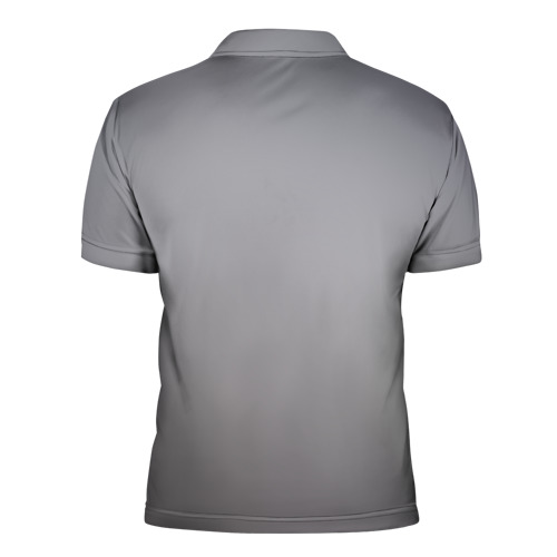 Мужская рубашка поло 3D  Фото 02, Fuck Society