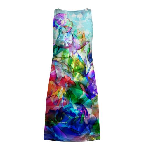 Платье-майка 3D Стеклянные цветы Фото 01