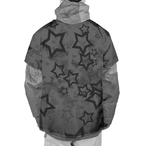 Накидка на куртку 3D  Фото 02, Звезды
