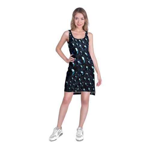Платье-майка 3D  Фото 03, Капли