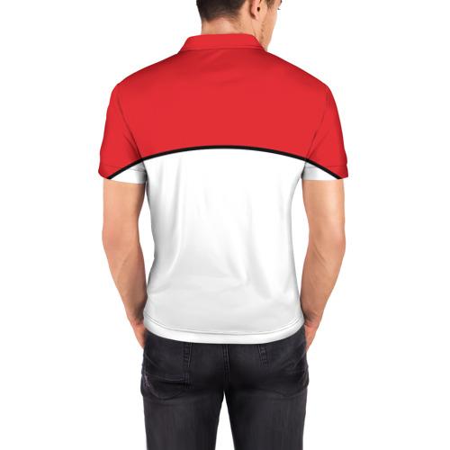 Мужская рубашка поло 3D  Фото 04, Uchiha Madara