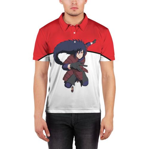 Мужская рубашка поло 3D  Фото 03, Uchiha Madara