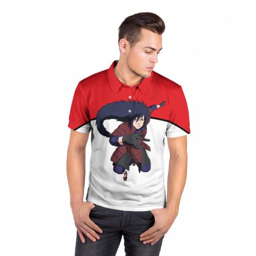 Мужская рубашка поло 3D  Фото 05, Uchiha Madara