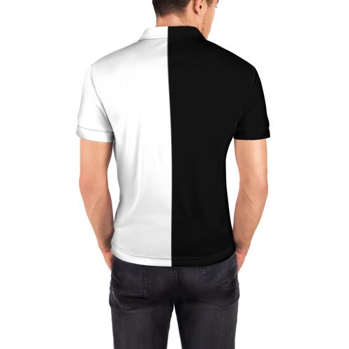 Мужская рубашка поло 3D  Фото 04, Блич