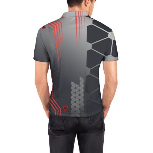 Мужская рубашка поло 3D  Фото 04, cs:go - Valence (Валентность)