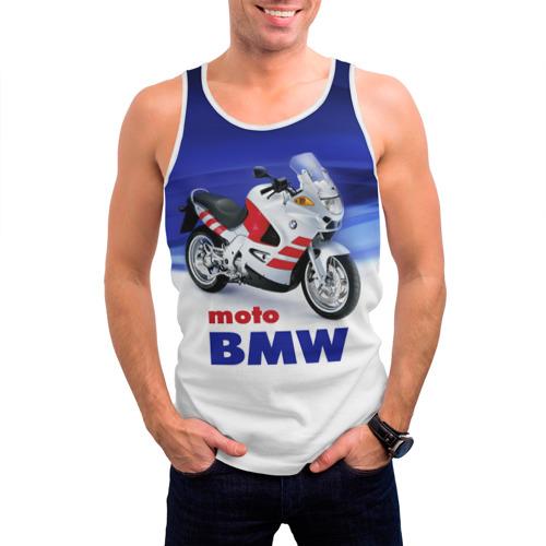 Мужская майка 3D  Фото 03, moto BMW