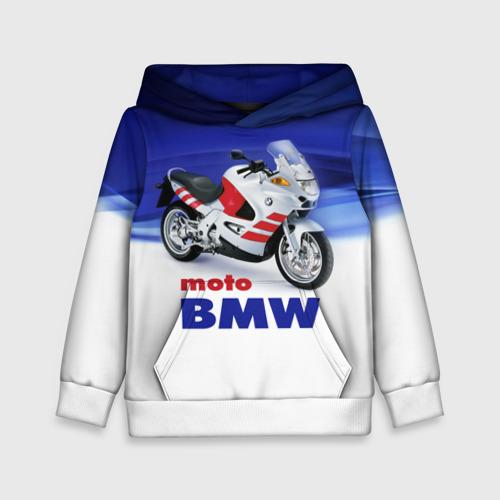 Детская толстовка 3D moto BMW Фото 01