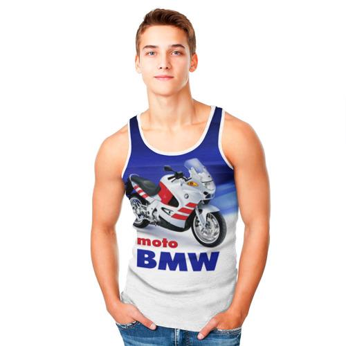 Мужская майка 3D  Фото 05, moto BMW