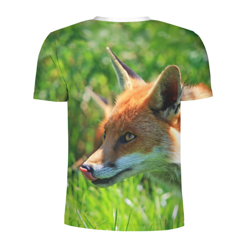 Мужская футболка 3D спортивная  Фото 02, Лисица