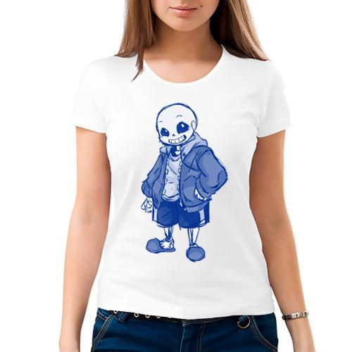 Женская футболка хлопок  Фото 03, Sans