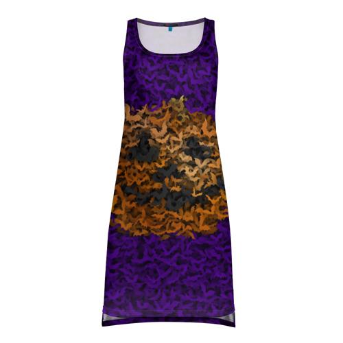Платье-майка 3D  Фото 01, Тыква и летучие мыши