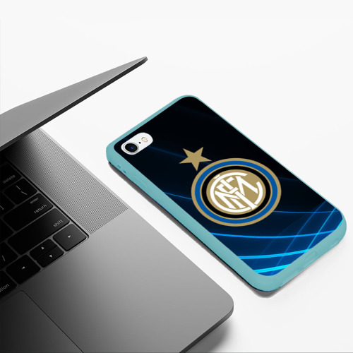 Чехол для iPhone 6Plus/6S Plus матовый Inter Milan Фото 01