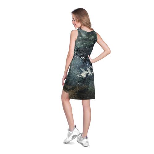 Платье-майка 3D  Фото 04, Капли краски