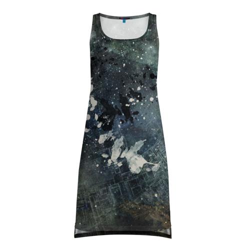Платье-майка 3D  Фото 01, Капли краски