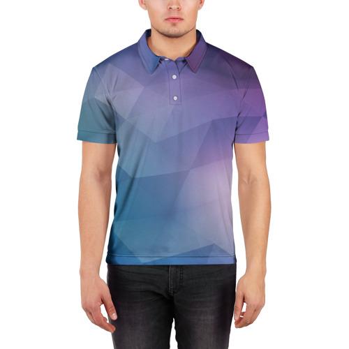 Мужская рубашка поло 3D  Фото 03, LOW POLY