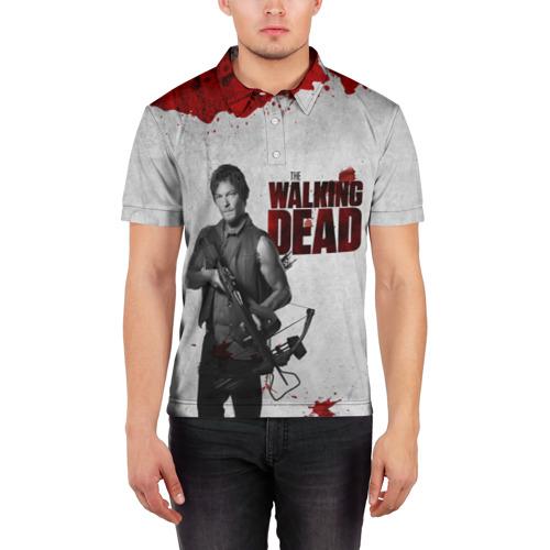 Мужская рубашка поло 3D  Фото 03, The Walking Dead