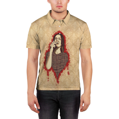 Мужская рубашка поло 3D  Фото 03, Лана
