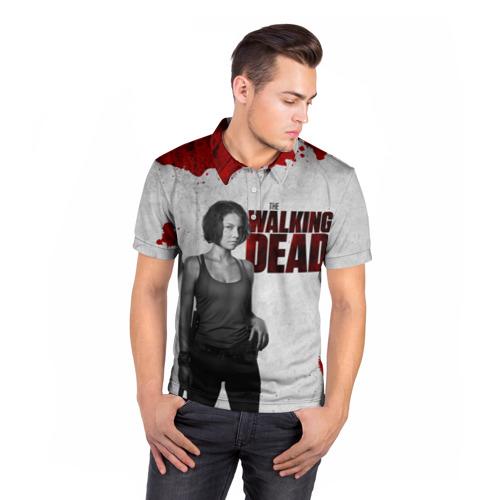 Мужская рубашка поло 3D  Фото 05, The Walking Dead