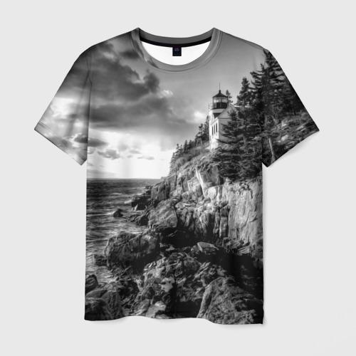 Мужская футболка 3D  Фото 03, Маяк