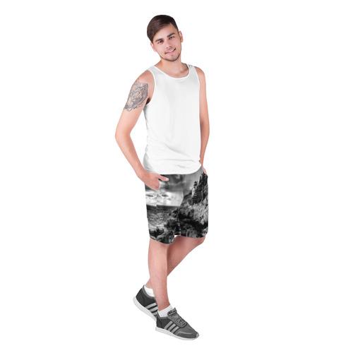 Мужские шорты 3D  Фото 03, Маяк