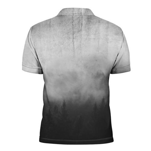 Мужская рубашка поло 3D  Фото 02, The Walking Dead